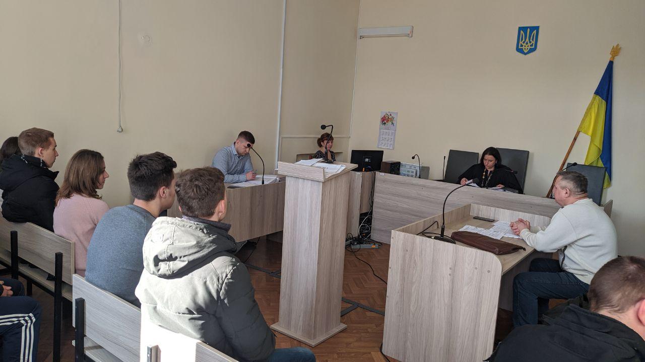 До Лубенського міськрайонного суду завітали студенти, фото-2