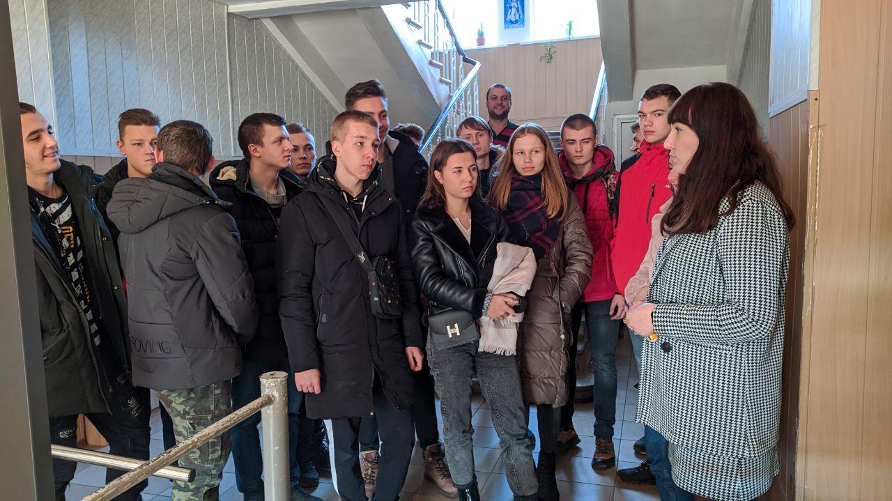 До Лубенського міськрайонного суду завітали студенти, фото-3
